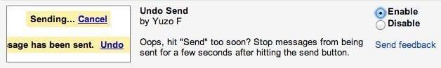 undo send screenshot